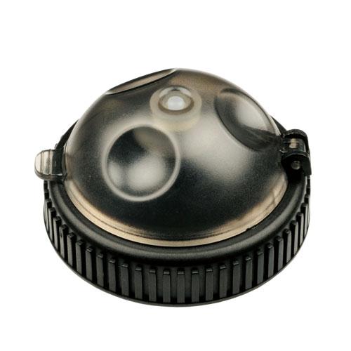 PULL TOP CAP CLEAR BOTTLE